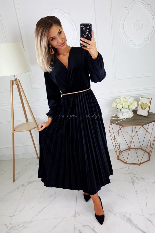 Платье VELVET CZARNA