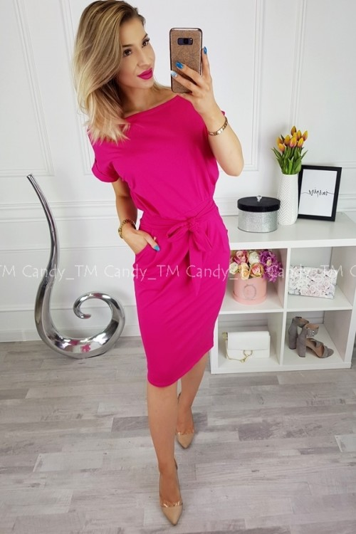 DRESS STELLA FUCHSIA