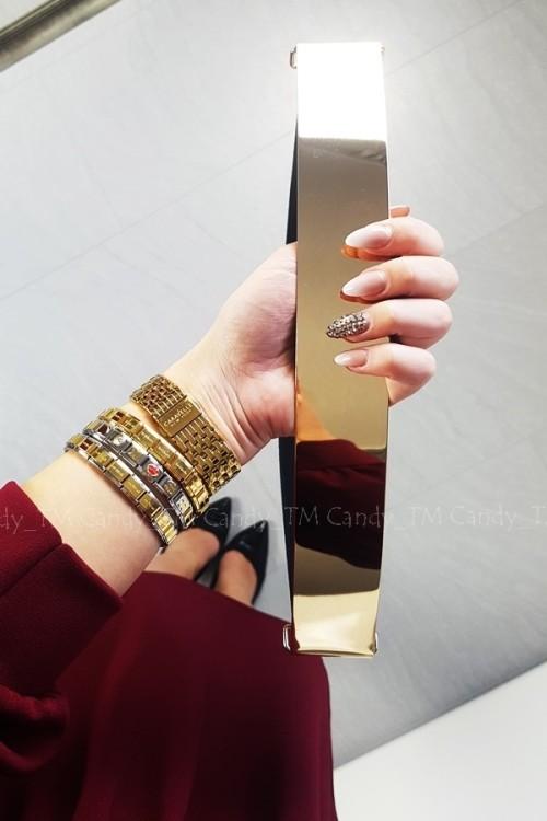 BELT ELASTIC GOLD