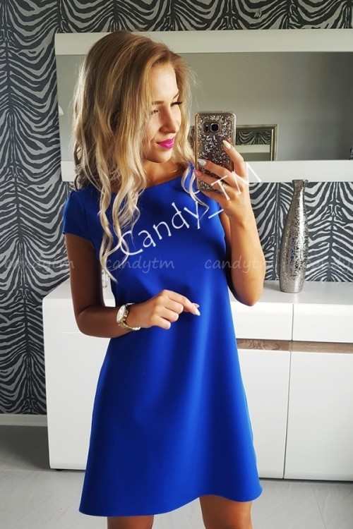 TEARDROP DRESS BLUE