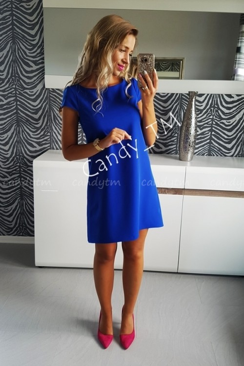 TEARDROP DRESS BLUE 3