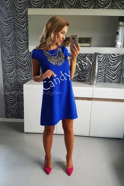 TEARDROP DRESS BLUE 1