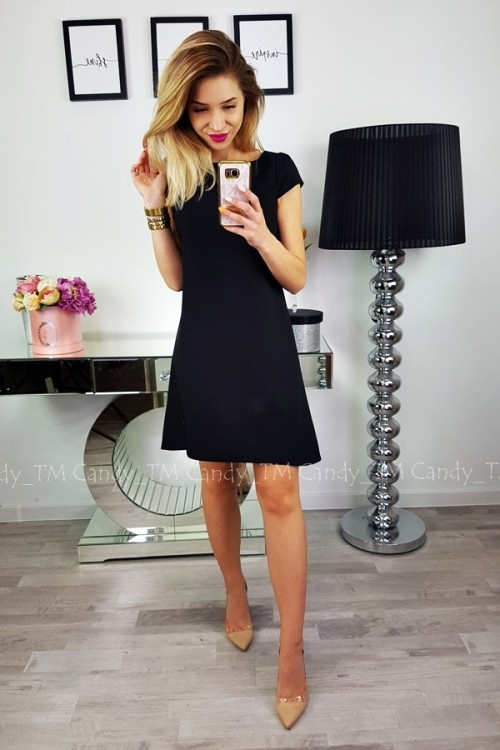 TEARDROP DRESS BLACK