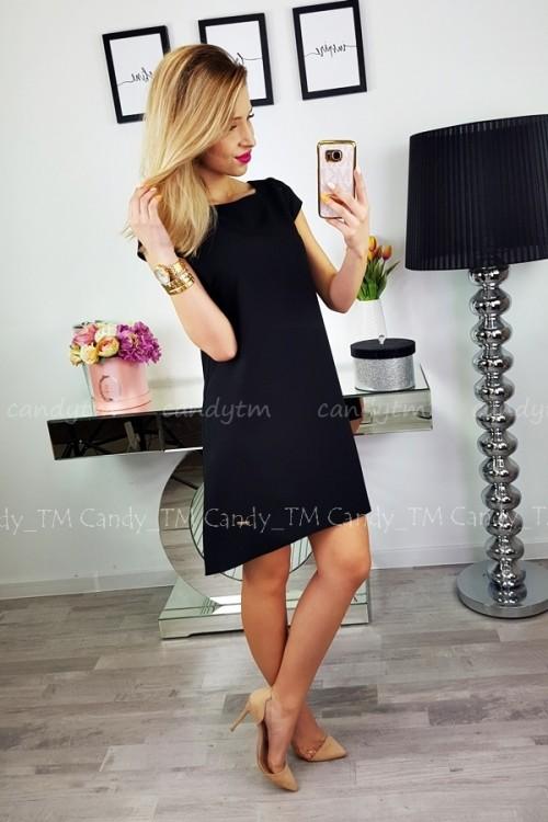 TEARDROP DRESS BLACK 2