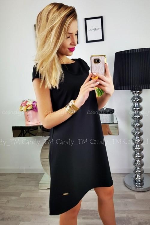 TEARDROP DRESS BLACK 3
