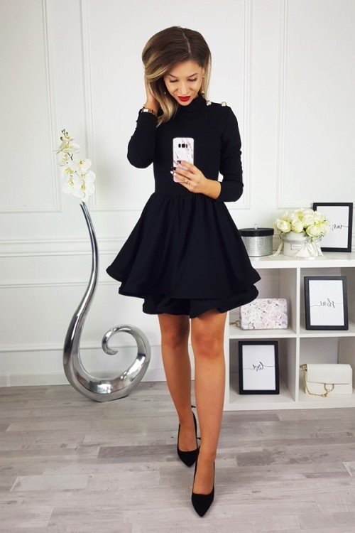 DRESS MAYA BLACK