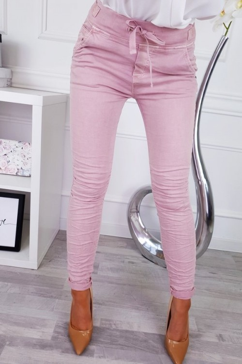 PANTS CITY POWDER PINK