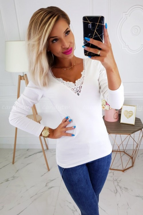 COTTON BLOUSE KLARA WHITE