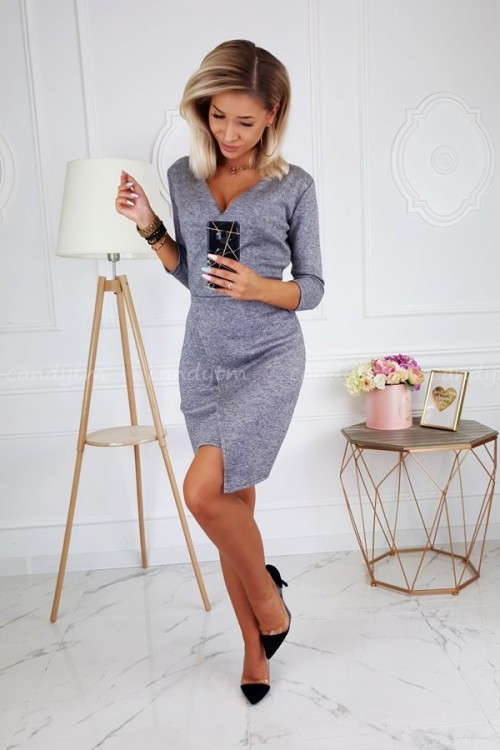 SWEATER DRESS MILAN GREY 5