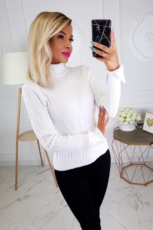 TURTLENECK SWEATER ANNETTE CREME