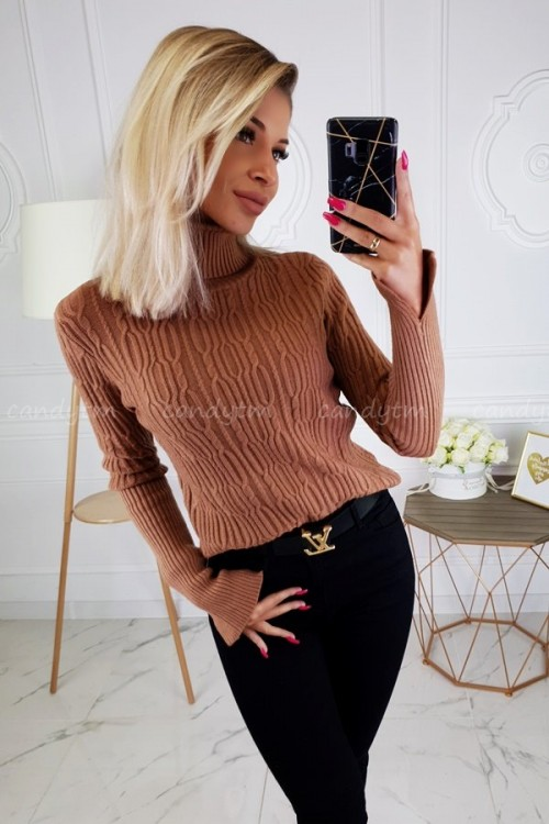 TURTLENECK SWEATER ANNETTE BROWN
