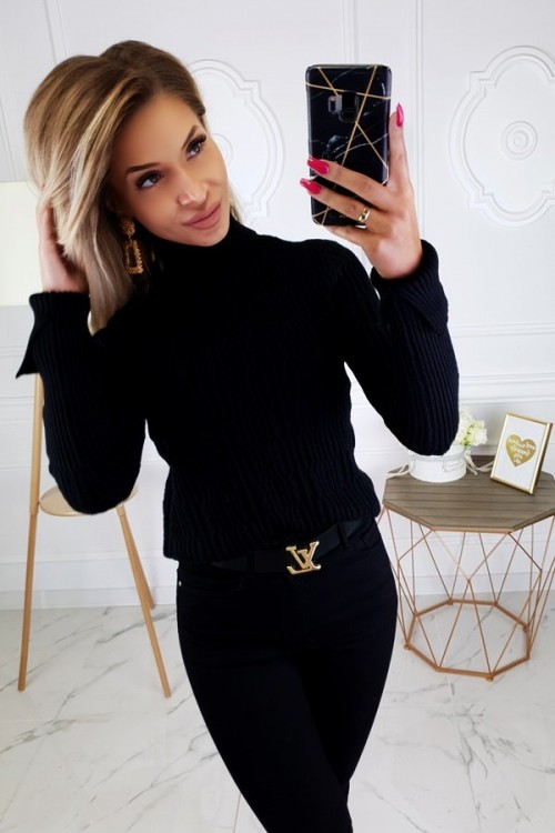 TURTLENECK SWEATER ANNETTE BLACK