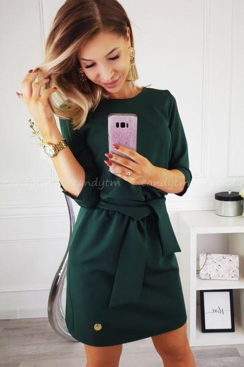 DRESS SASH BOTTLE GREEN