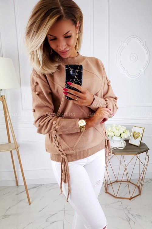 SWEATER ZOEY CAMEL