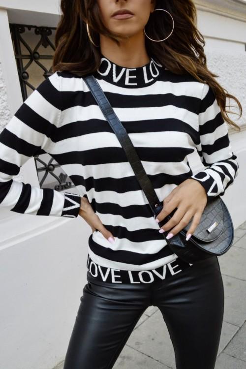 SWETEREK LOVE BLACK&WHITE