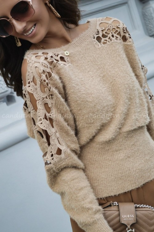 SWEATER COLLIE BEIGE