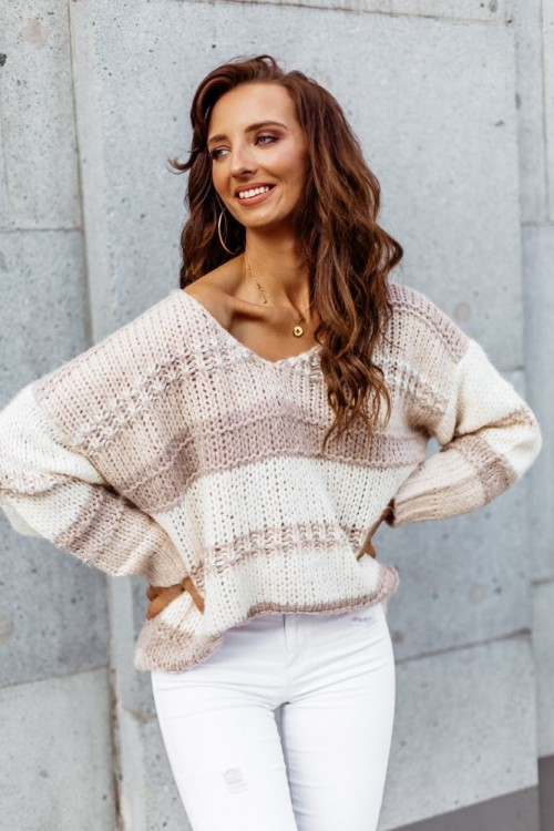 SWEATER MAXINE BEIGE