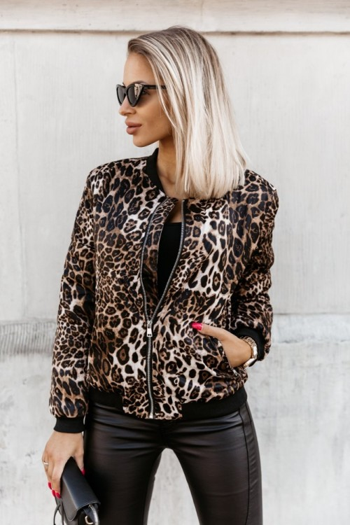 WINTER BOMBER JACKET PANTHER