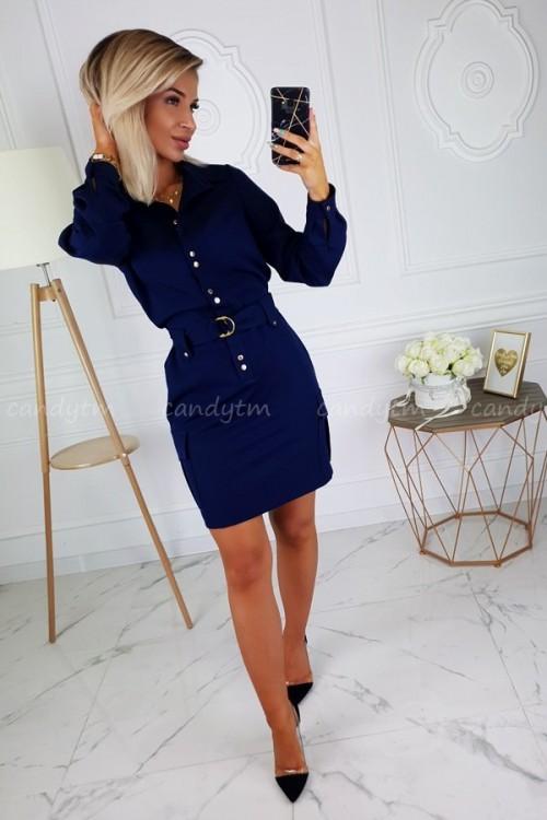 DRESS JOCELINE NAVY BLUE 3