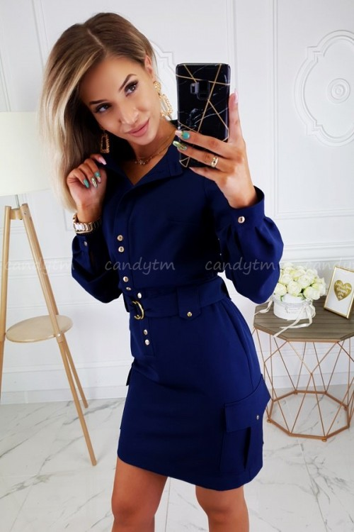 DRESS JOCELINE NAVY BLUE 6