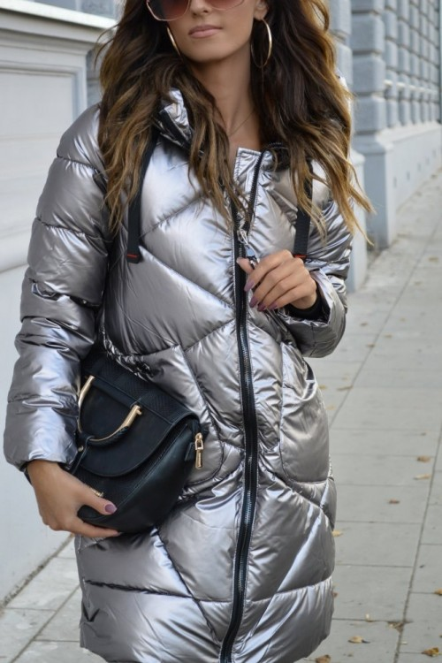 WINTER JACKET ARCTIC SILVER
