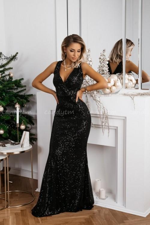 MAXI DRESS QUEEN BLACK 2