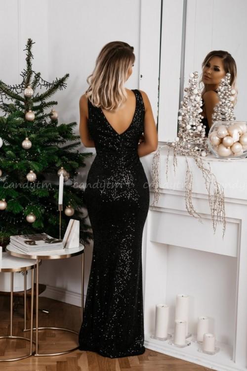 MAXI DRESS QUEEN BLACK 5