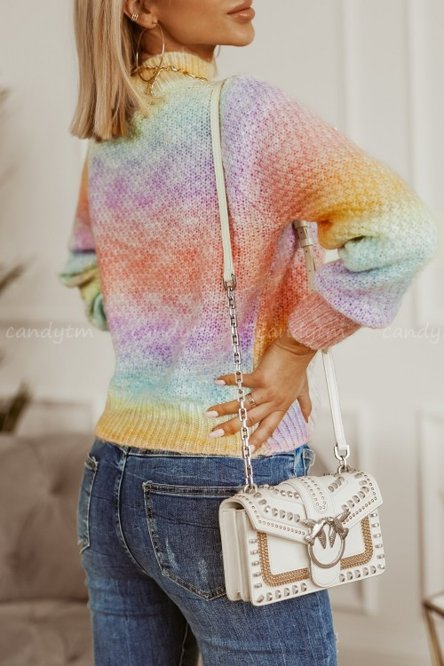 SWETER RAINBOW OMBRE PINK 3