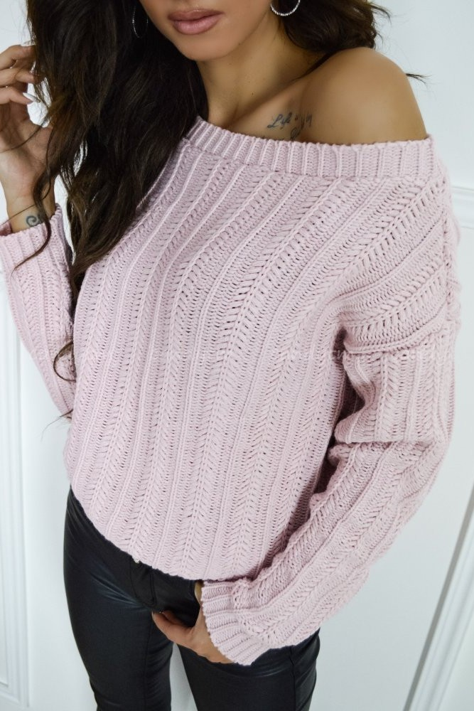 SWEATER HUSK POWDER PINK