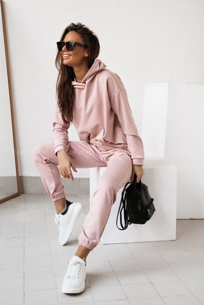 JUMPSUIT SPORTAGE DIRTY PINK