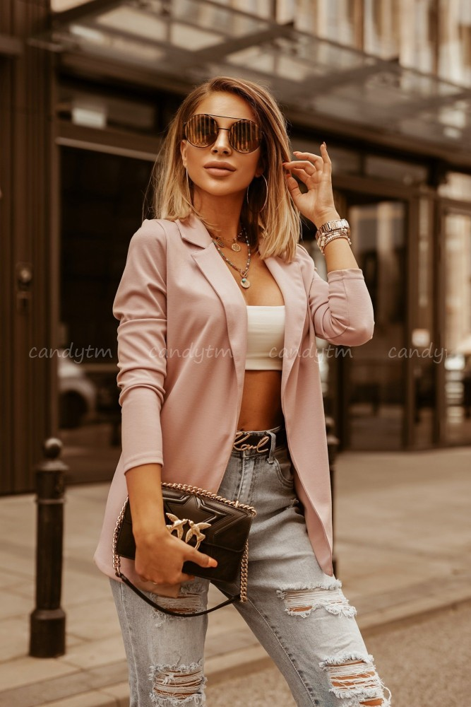 SPORT JACKET DIRTY PINK